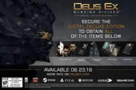 Deus Ex: Mankind Divided Digital Deluxe