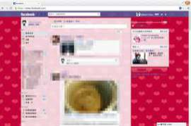 Facebook Themes Facebook Style Gallery Chrome